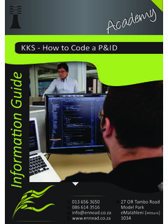 KKS - How to Code a P&ID - Ennead