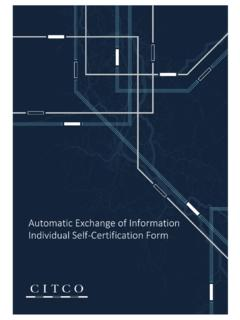 Automatic Exchange of Information Individual Self ...