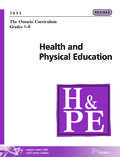 Health and Physical Education - edu.gov.on.ca