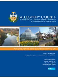 Initial Research and Analysis Report - Allegheny Places