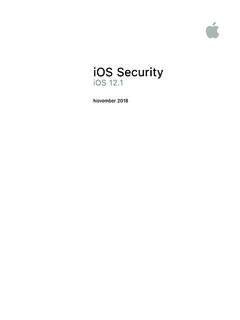 iOS Security Guide - iOS 11 - apple.com