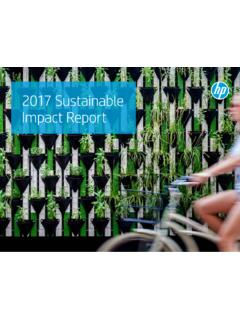 HP 2017 Sustainable Impact Report