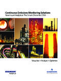 Continuous Emissions Monitoring Solutions - Emerson