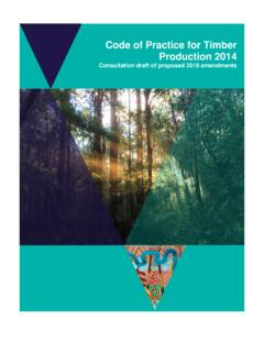 Working Document- Code of Practice for Timber Production …