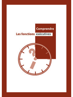 Comprendre Les fonctions exécutives - crfna.be