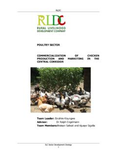 POULTRY SECTOR COMMERCIALIZATION OF …