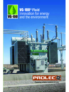 VG-100 Fluid Innovation for energy and the environment