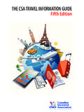 THE CSA TRAVEL INFORMATION GUIDE Fifth Edition