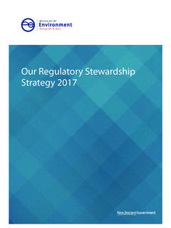 Our Regulatory Stewardship Strategy 2017