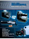 YOUR SUPERIOR SOURCE FOR HYDRAULIC PUMPS …