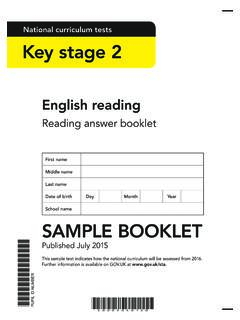 National curriculum tests Key stage 2 - SATs Papers Guide