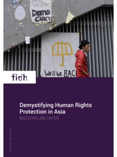 Demystifying Human Rights Protection in Asia