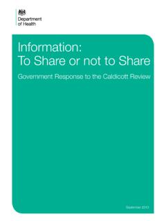 Information: To Share or not to Share