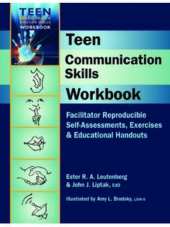 Mental HealtH and life SkillS Workbook Teen …