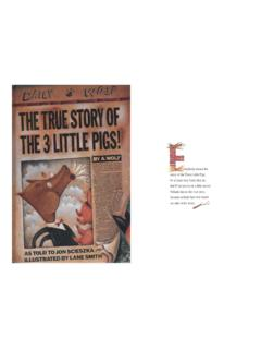 The True Story of the Three Little Pigs - sps186.org