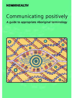 Communicating positively - NSW Health