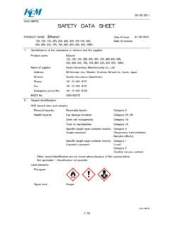 09/26/2011 GHS-0057E SAFETY DATA SHEET - …