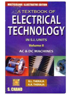 A Textbook of Electrical Technology Vol. 2 - Theraja