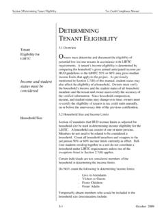 DETERMINING TENANT ELIGIBILITY - Spectrum Enterprises
