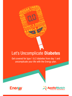 Let's Uncomplicate Diabetes - Apollo Munich