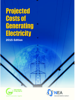 Projected Costs of Generating Electricity 2015 Edition