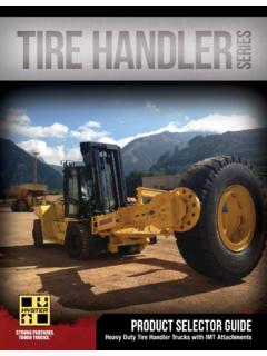 PRODUCT SELECTOR Guide - Hyster