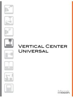 Vertical Center Universal - Addy Machinery
