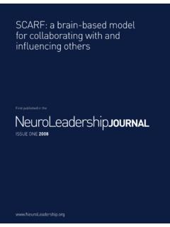 First published in the NeuroLeadership journal