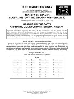 TRANSITION EXAM IN MC & THEMATIC GLOBAL HISTORY …