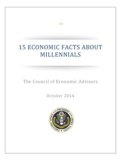 15 ECONOMIC FACTS ABOUT MILLENNIALS - The White House