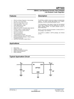 AP7333 - Diodes Incorporated