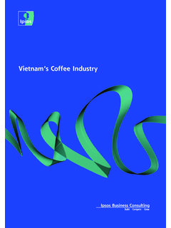 Vietnam's Coffee Industry - Ipsos Business Consulting
