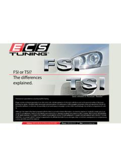 FSI or TSI? The differences explained.