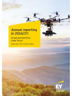 Annual reporting in 2016/17 - Ernst & Young