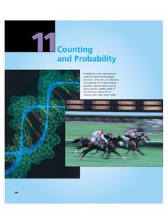 Counting - Cengage