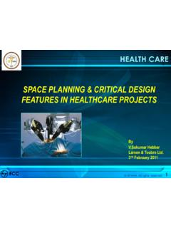 SPACE PLANNING & CRITICAL DESIGN FEATURES IN …