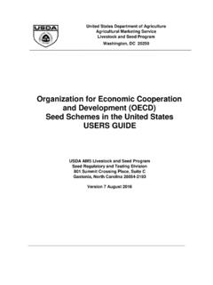 Organization for Economic Cooperation and …