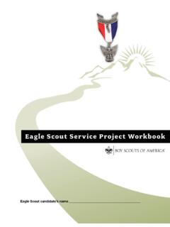 Eagle Scout Service Project Workbook - …