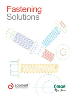 Fastening Solutions Overview Updated - Feb 06 2014indd