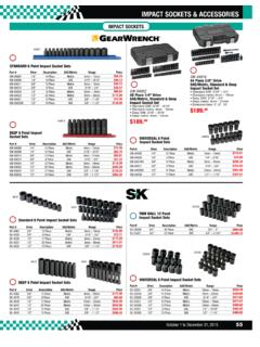 IMPACT SOCKETS & ACCESSORIES - G2SEQUIP.CA