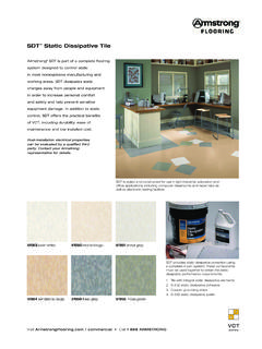 SDT Static Dissipative Tile - Armstrong Flooring