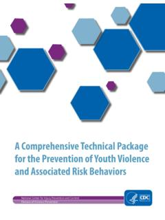A Comprehensive Technical Package for the Prevention of ...