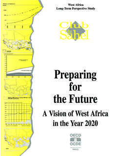 PREPARING FOR THE FUTURE : A VISION OF WEST AFRICA …