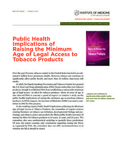 Public Health Implications of Raising the Minimum …