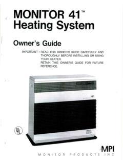 Monitor 41 Heating System Monitor 41 Heating System Pdf Pdf4pro