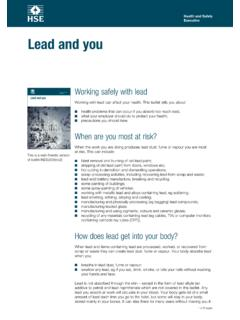 Lead and you