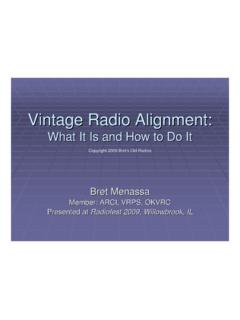Vintage Radio Alignment: What It Is and How to Do It