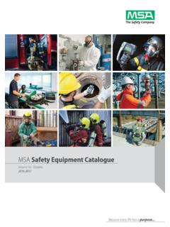MSA Safety Equipment Catalogue - Adobe