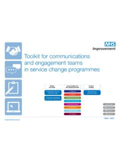 Toolkit for communications and engagement teams in …