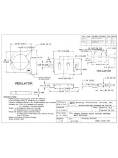 BHX1-2032-SM Datasheet and Technical Drawing | MPD